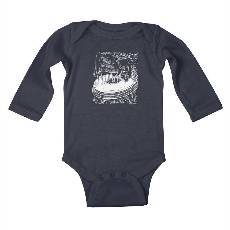 SMJ XXXVI Turntable Kids Baby Longsleeve Bodysuit by Smokeproof