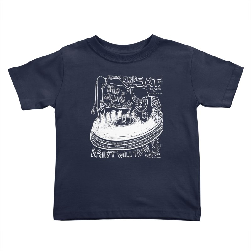 SMJ XXXVI Turntable Kids Toddler T-Shirt by Smokeproof