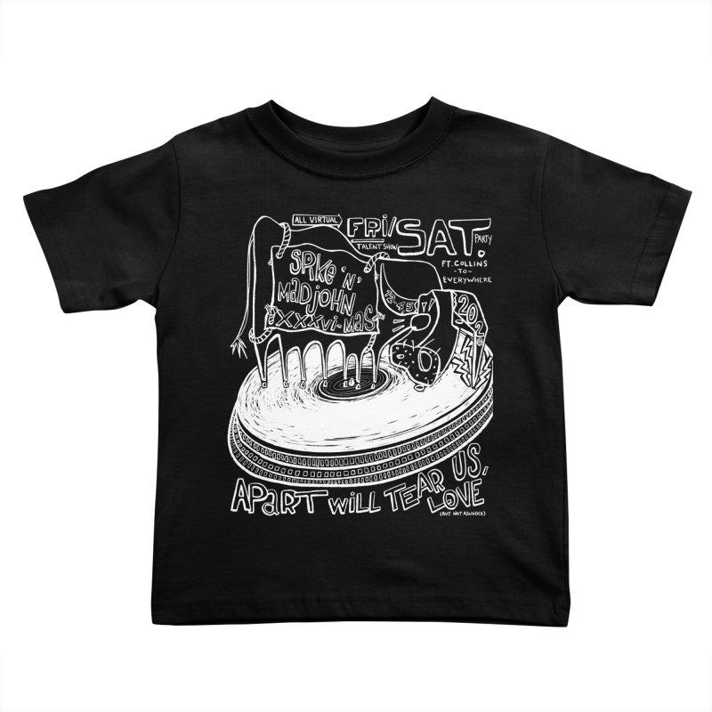 SMJ XXXVI Turntable Kids Toddler T-Shirt by Smokeproof