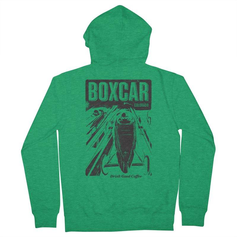 Boxcar Soapbox Racer 2 (blk) Men's Zip-Up Hoody by Smokeproof