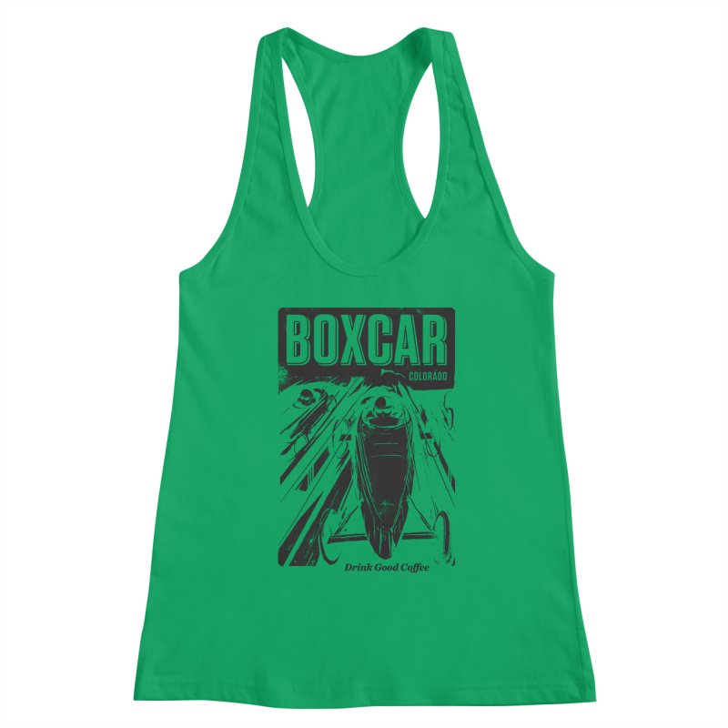 Boxcar Soapbox Racer 2 (blk) Women's Tank by Smokeproof