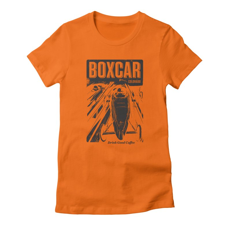 Boxcar Soapbox Racer 2 (blk) Women's T-Shirt by Smokeproof