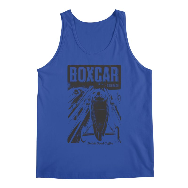 Boxcar Soapbox Racer 2 (blk) Men's Tank by Smokeproof
