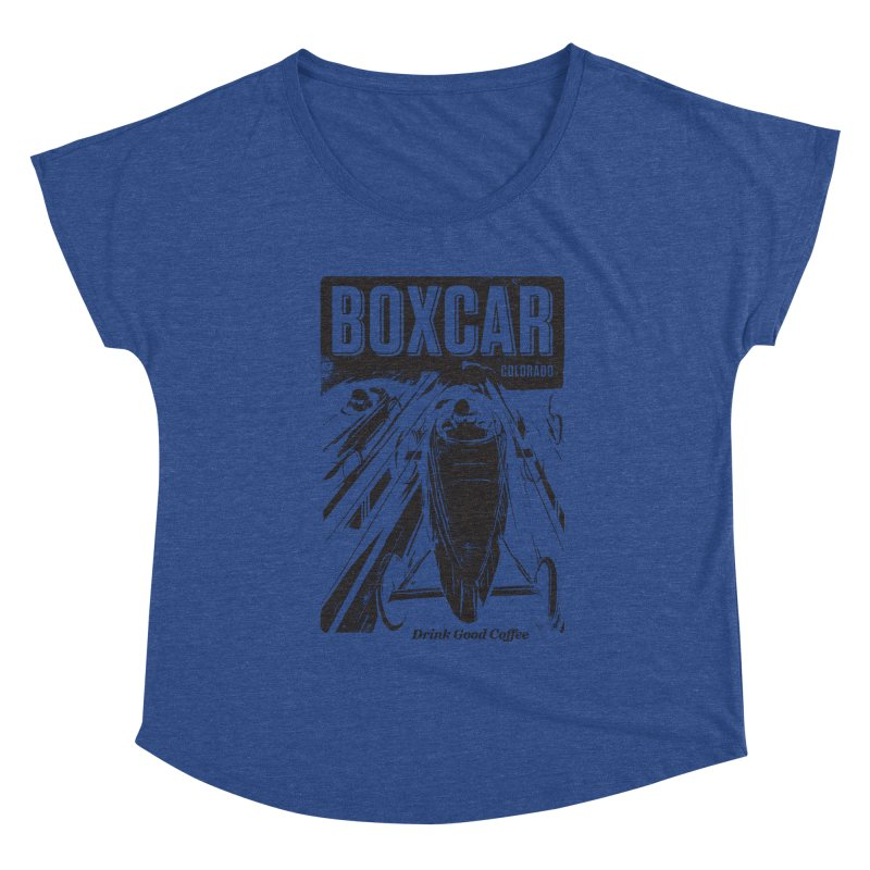 Boxcar Soapbox Racer 2 (blk) Women's Scoop Neck by Smokeproof