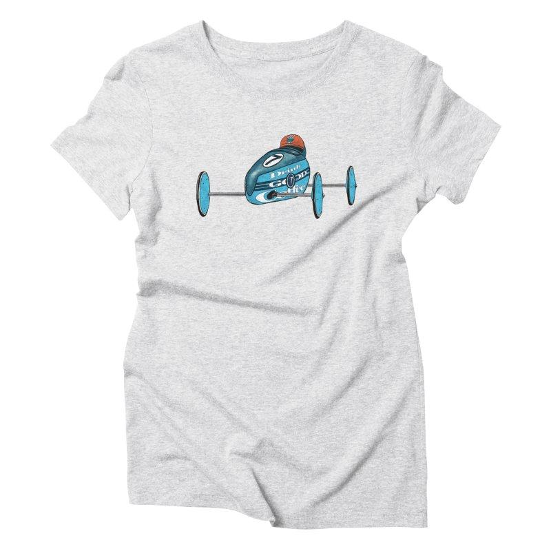 Boxcar Coffee Soapbox Racer #7 Women's T-Shirt by Smokeproof