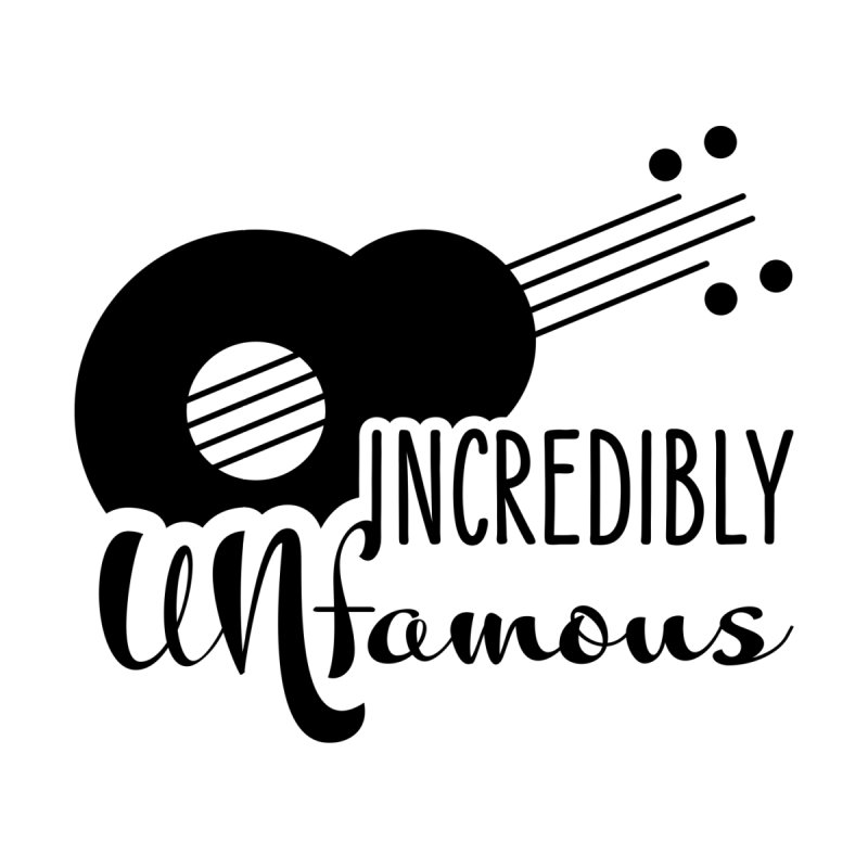 Incredibly Unfamous Guitar (blk) Men's T-Shirt by Smokeproof