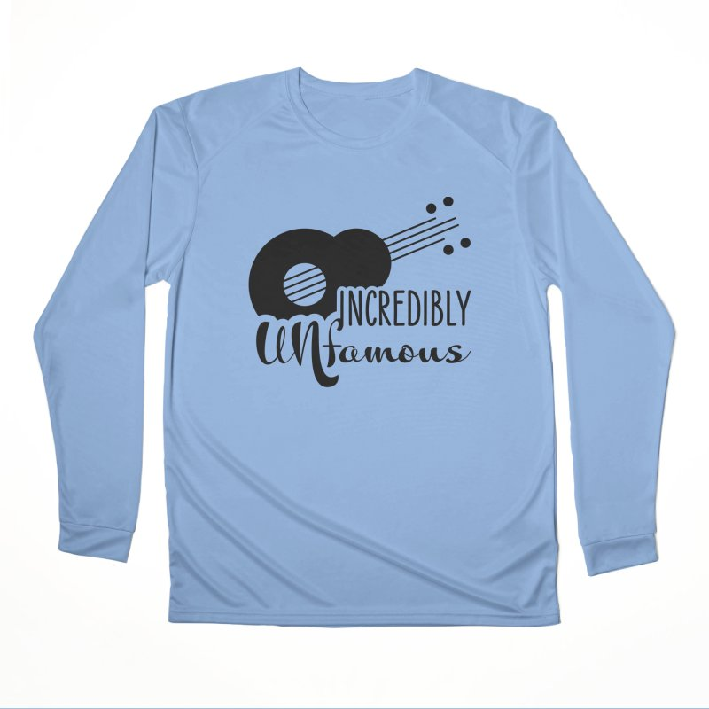 Incredibly Unfamous Guitar (blk) Women's Longsleeve T-Shirt by Smokeproof