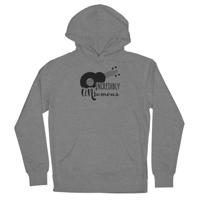 Incredibly Unfamous Guitar (blk) Women's Pullover Hoody by Smokeproof