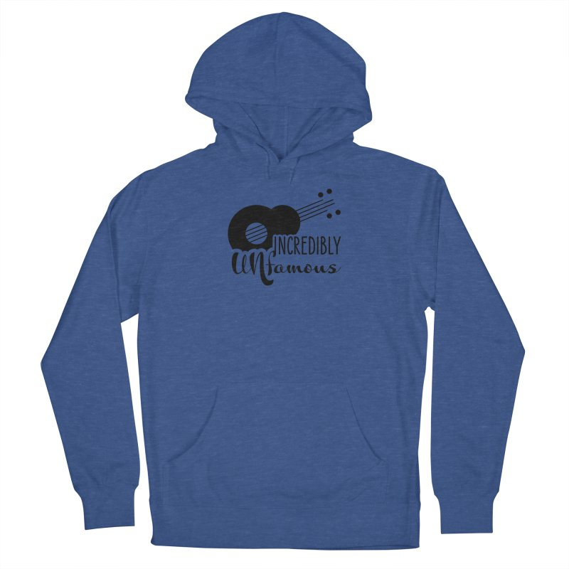 Incredibly Unfamous Guitar (blk) Men's Pullover Hoody by Smokeproof
