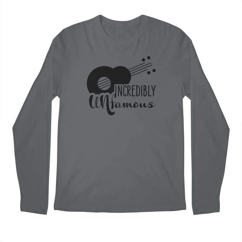Incredibly Unfamous Guitar (blk) Men's Longsleeve T-Shirt by Smokeproof