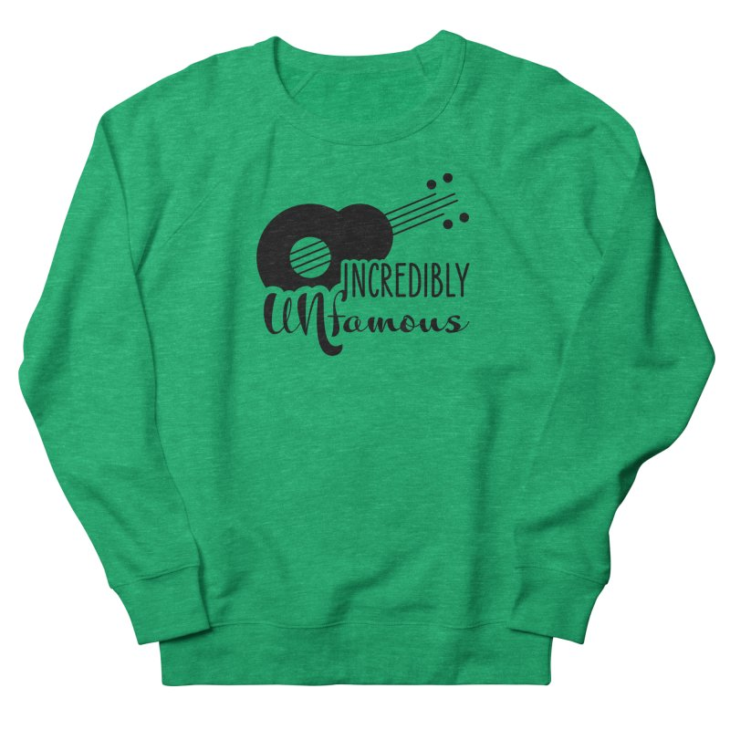 Incredibly Unfamous Guitar (blk) Women's Sweatshirt by Smokeproof