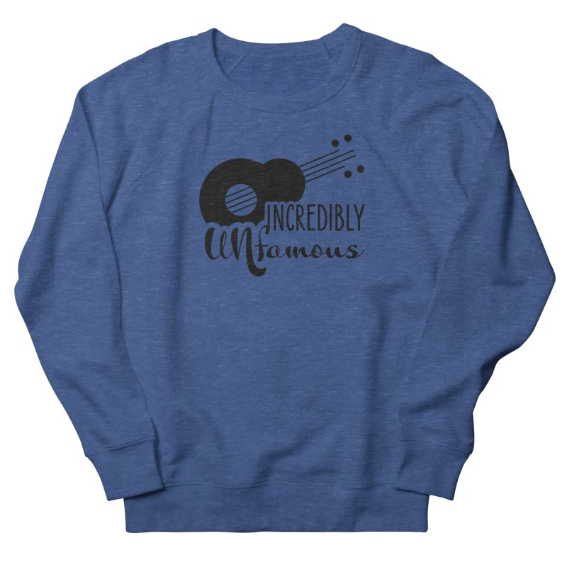 Incredibly Unfamous Guitar (blk) Men's Sweatshirt by Smokeproof
