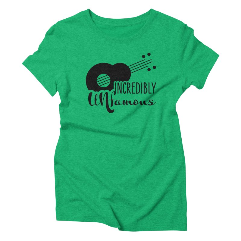 Incredibly Unfamous Guitar (blk) Women's T-Shirt by Smokeproof