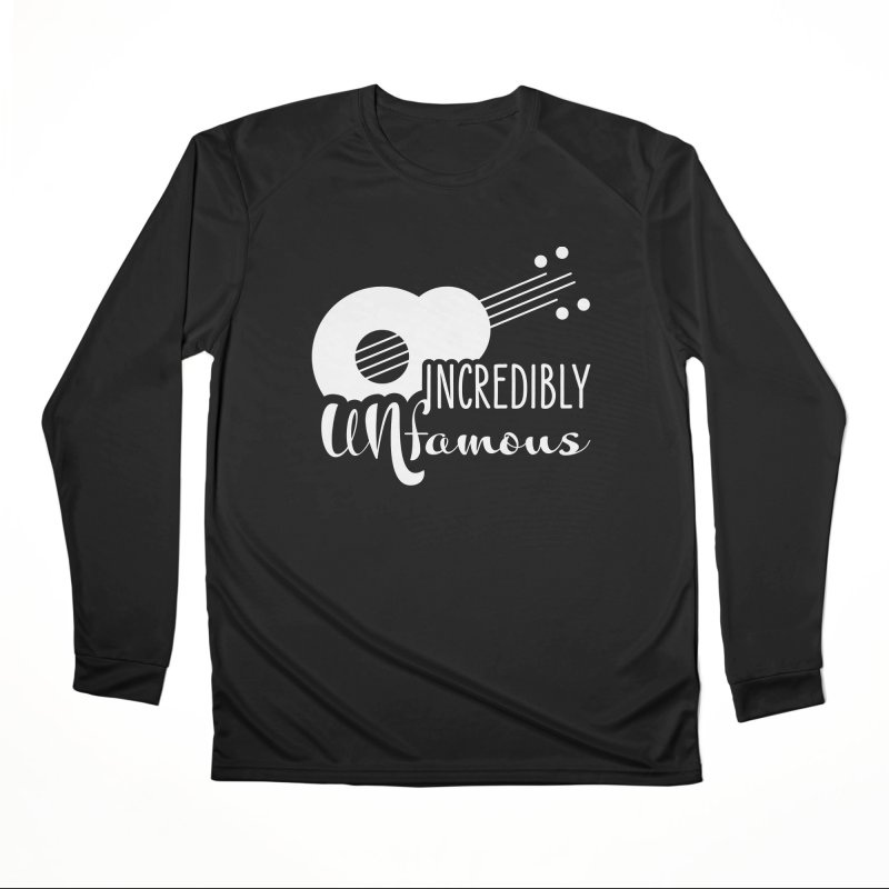 Incredibly Unfamous Guitar (wht) Women's Longsleeve T-Shirt by Smokeproof