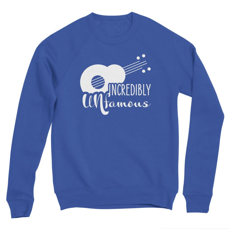 Incredibly Unfamous Guitar (wht) Men's Sweatshirt by Smokeproof