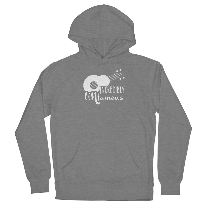 Incredibly Unfamous Guitar (wht) Women's Pullover Hoody by Smokeproof