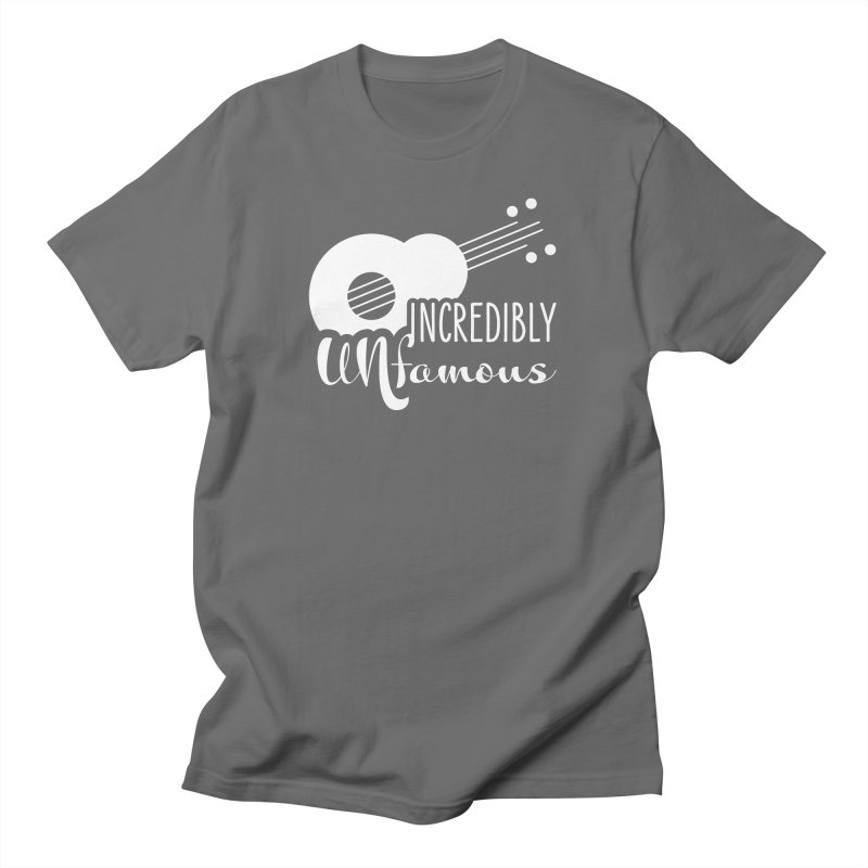 Incredibly Unfamous Guitar (wht) Men's T-Shirt by Smokeproof