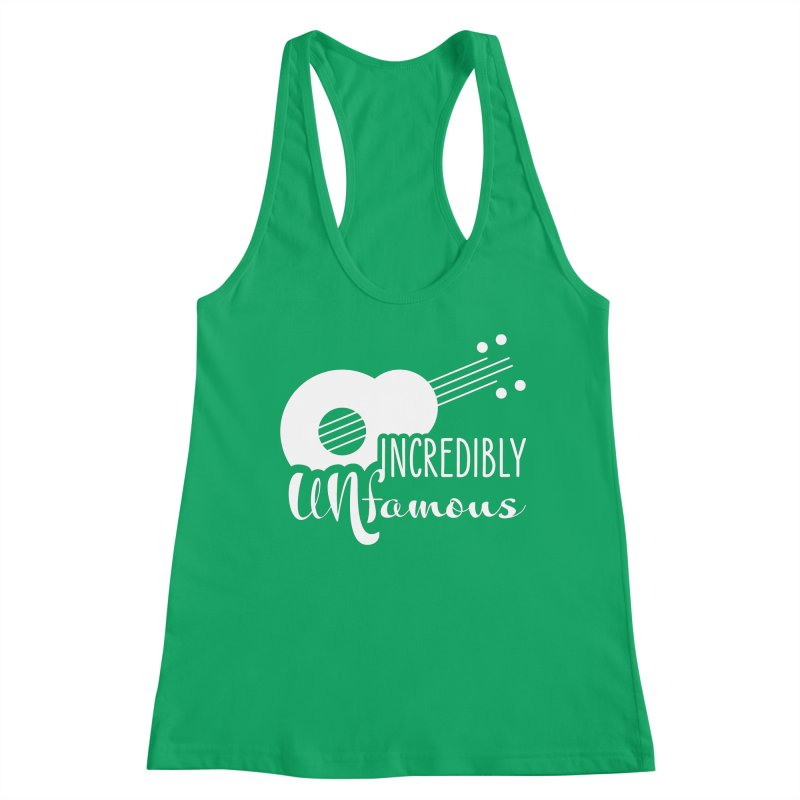 Incredibly Unfamous Guitar (wht) Women's Tank by Smokeproof