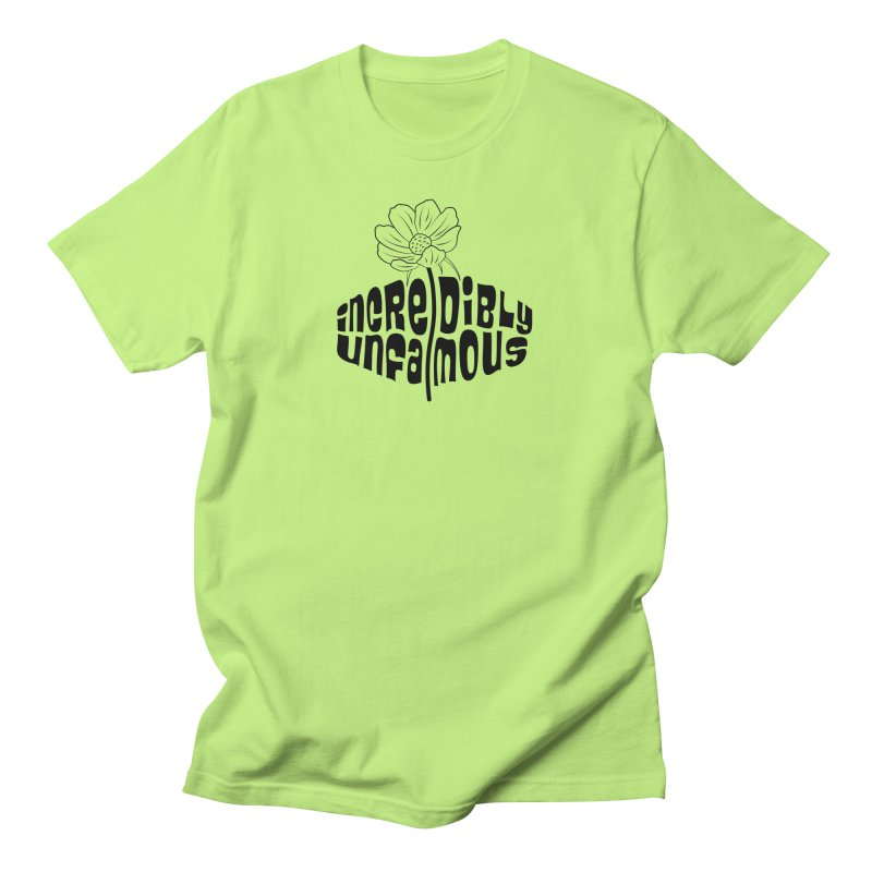Incredibly Unfamous Flower (blk) Women's T-Shirt by Smokeproof