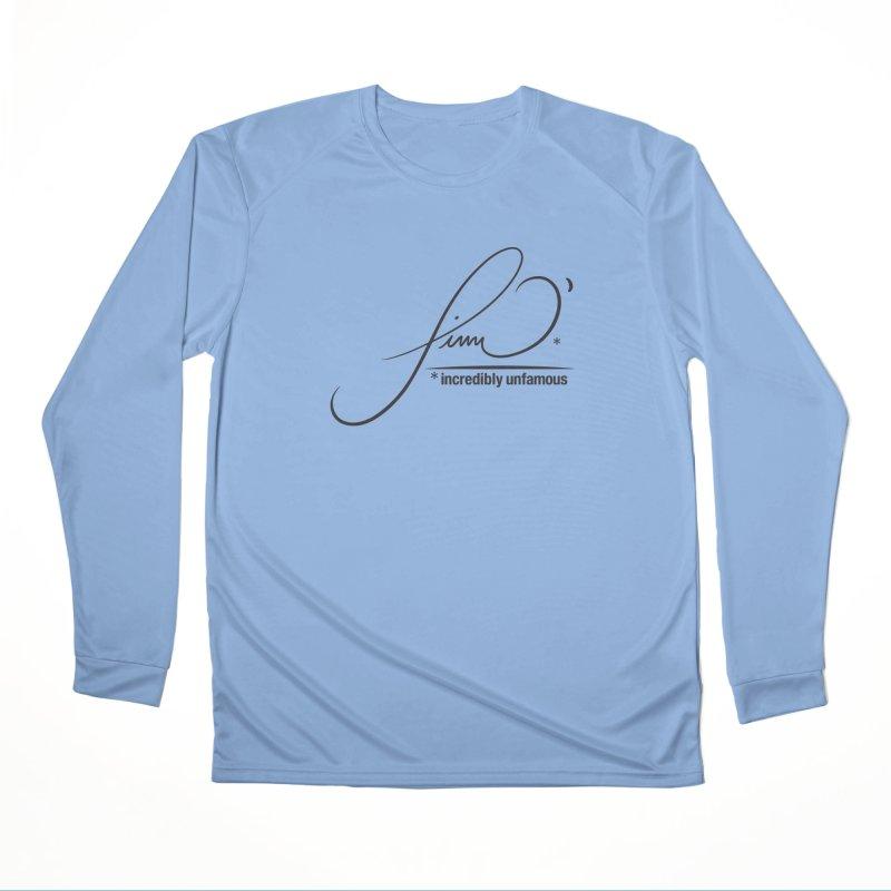 Finn O' Script (blk) Men's Longsleeve T-Shirt by Smokeproof