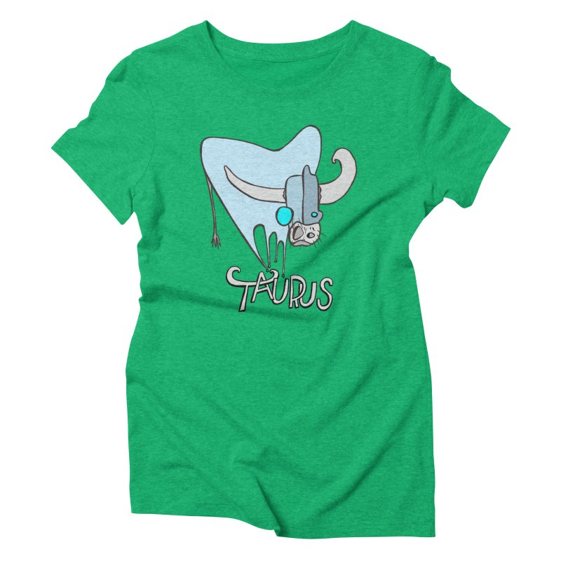 Rough Taurus Women's T-Shirt by Smokeproof