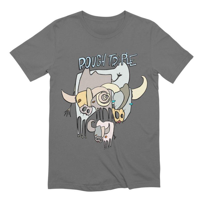 Rough Triple Men's T-Shirt by Smokeproof