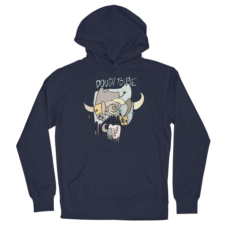 Rough Triple Men's Pullover Hoody by Smokeproof