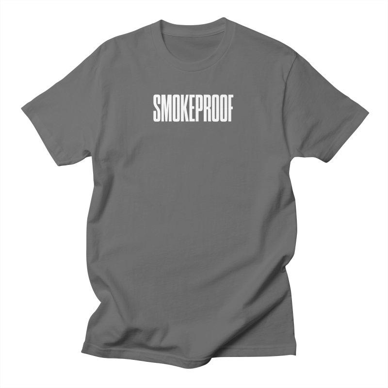 Smokeproof Wordmark Men's T-Shirt by Smokeproof