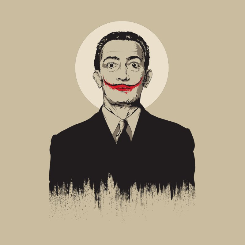 Dali | The Joker Home Fine Art Print by Gabriel Mihai Artist Shop