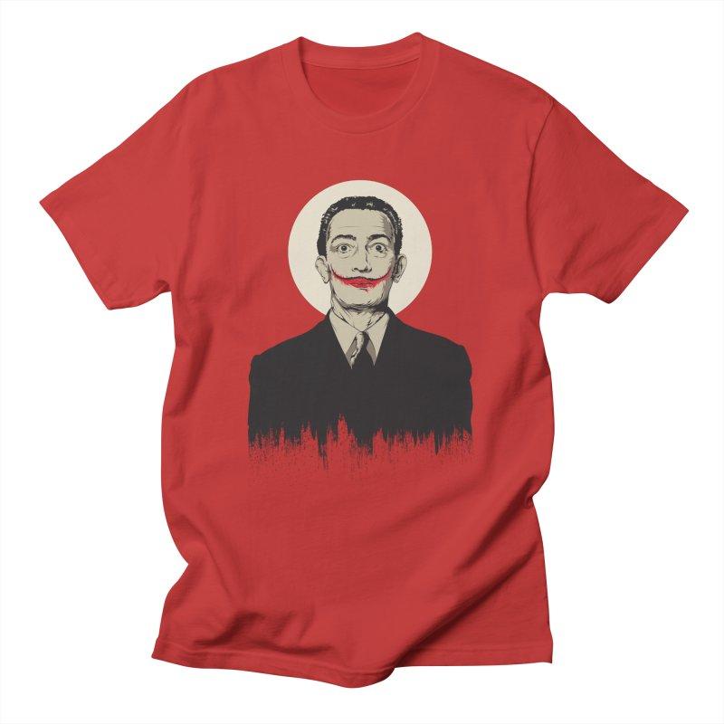 Dali   The Joker Men's T-Shirt by Gabriel Mihai Artist Shop