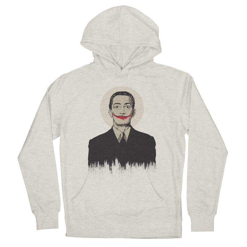 Dali | The Joker Women's French Terry Pullover Hoody by Gabriel Mihai Artist Shop