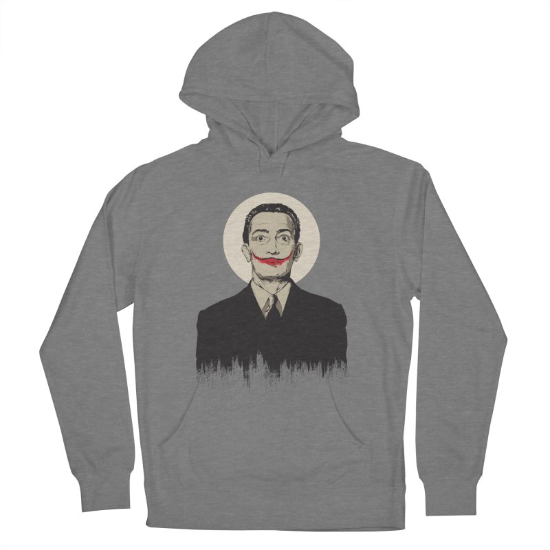 Dali | The Joker Men's French Terry Pullover Hoody by Gabriel Mihai Artist Shop