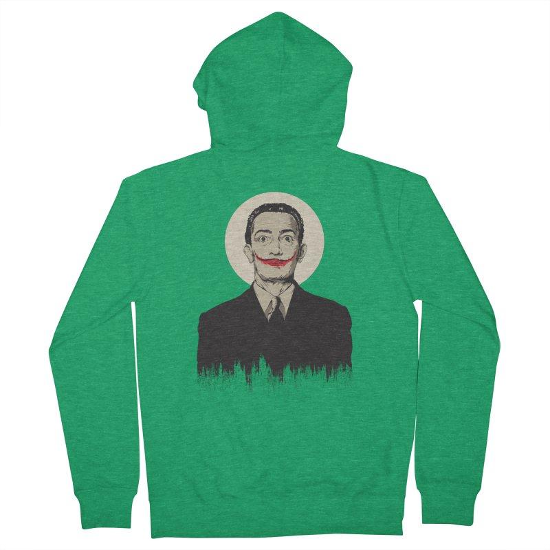 Dali | The Joker Women's Zip-Up Hoody by Gabriel Mihai Artist Shop