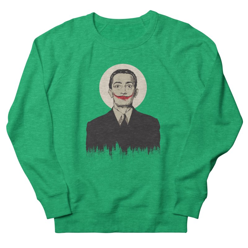 Dali | The Joker Women's Sweatshirt by Gabriel Mihai Artist Shop