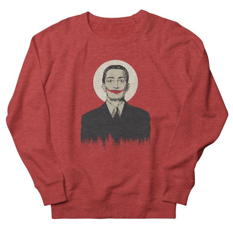 Dali | The Joker Women's French Terry Sweatshirt by Gabriel Mihai Artist Shop
