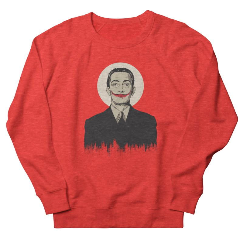 Dali | The Joker Men's Sweatshirt by Gabriel Mihai Artist Shop