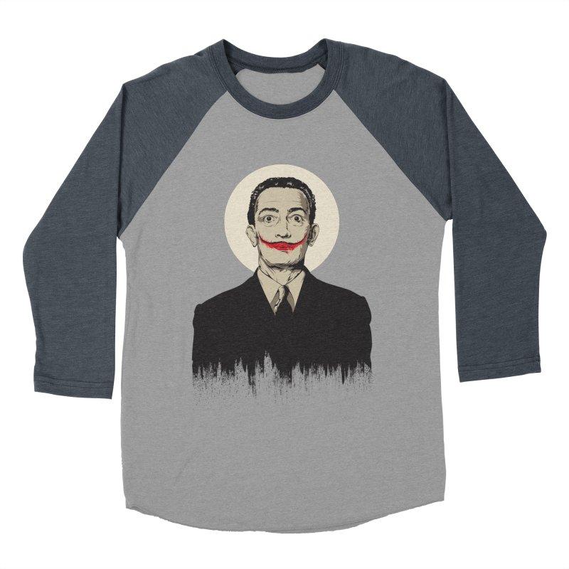 Dali | The Joker Women's Baseball Triblend Longsleeve T-Shirt by Gabriel Mihai Artist Shop