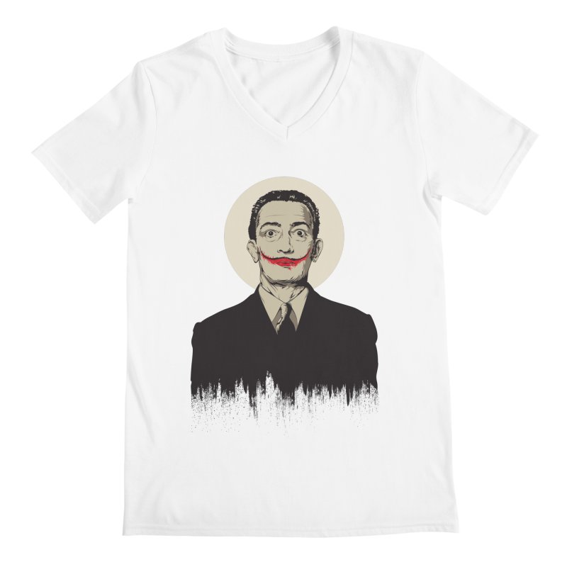 Dali | The Joker Men's V-Neck by Gabriel Mihai Artist Shop