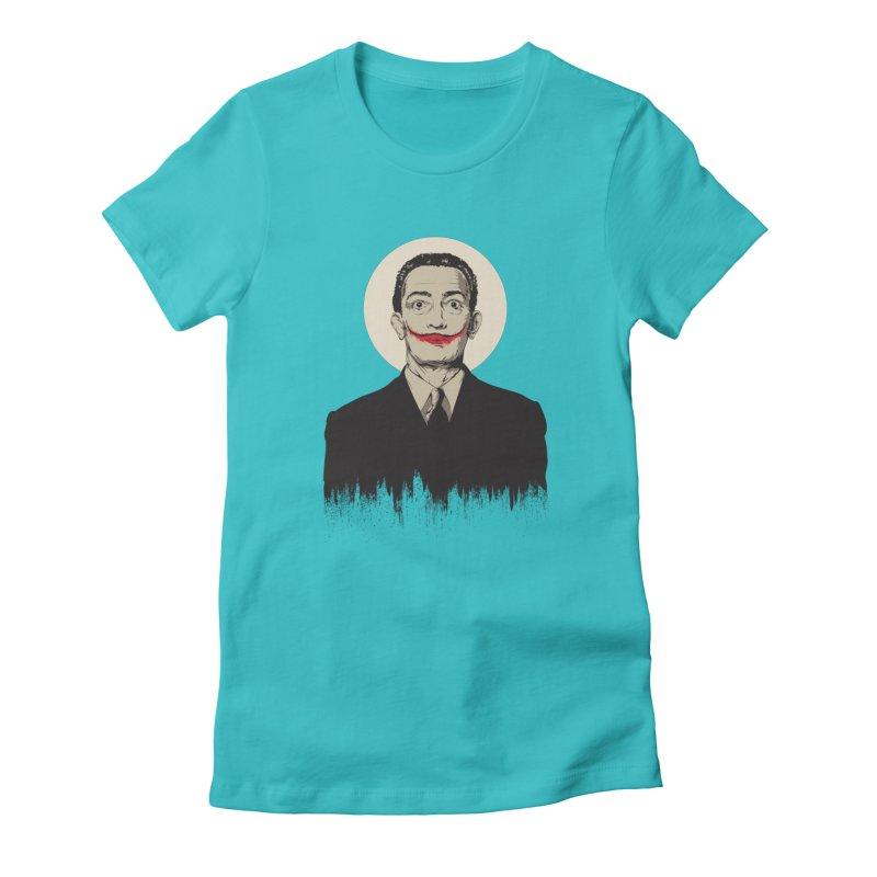 Dali | The Joker Women's T-Shirt by Gabriel Mihai Artist Shop