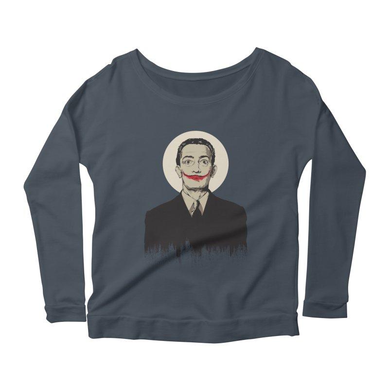 Dali | The Joker Women's Scoop Neck Longsleeve T-Shirt by Gabriel Mihai Artist Shop