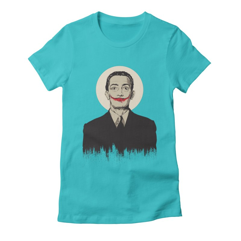 Dali | The Joker Women's T-Shirt by Gabriel Mihai Artist Shop