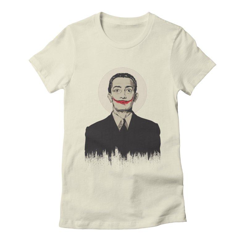 Dali   The Joker Women's T-Shirt by Gabriel Mihai Artist Shop