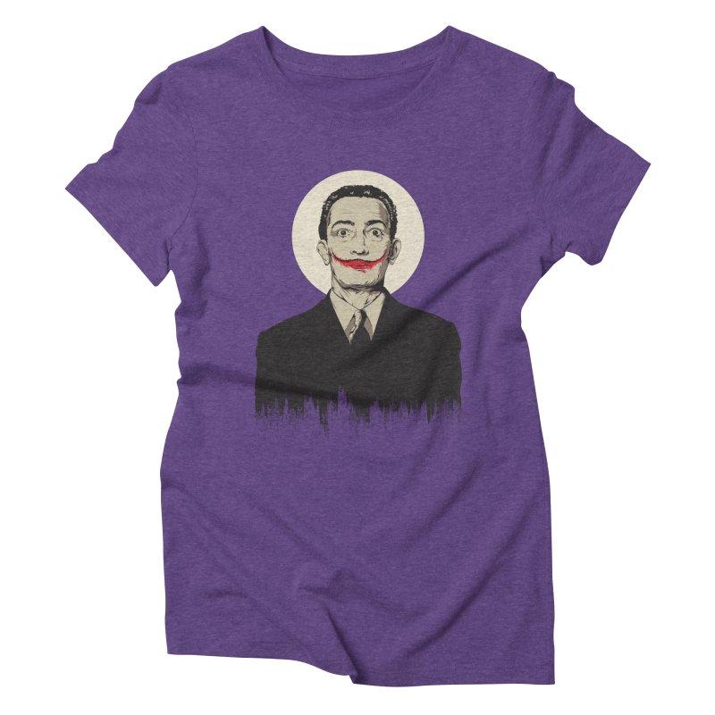 Dali | The Joker Women's Triblend T-Shirt by Gabriel Mihai Artist Shop