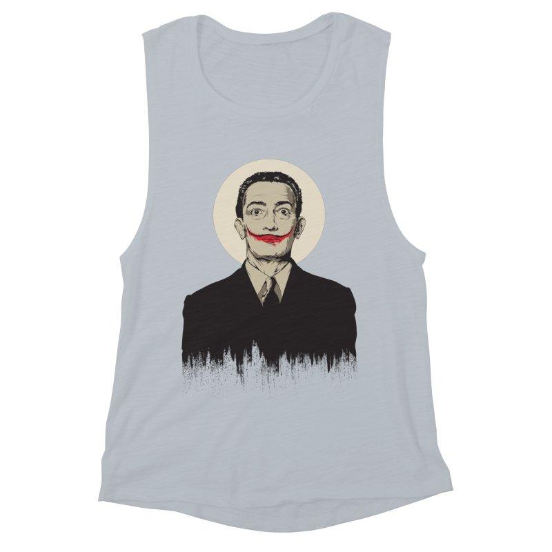 Dali | The Joker Women's Muscle Tank by Gabriel Mihai Artist Shop