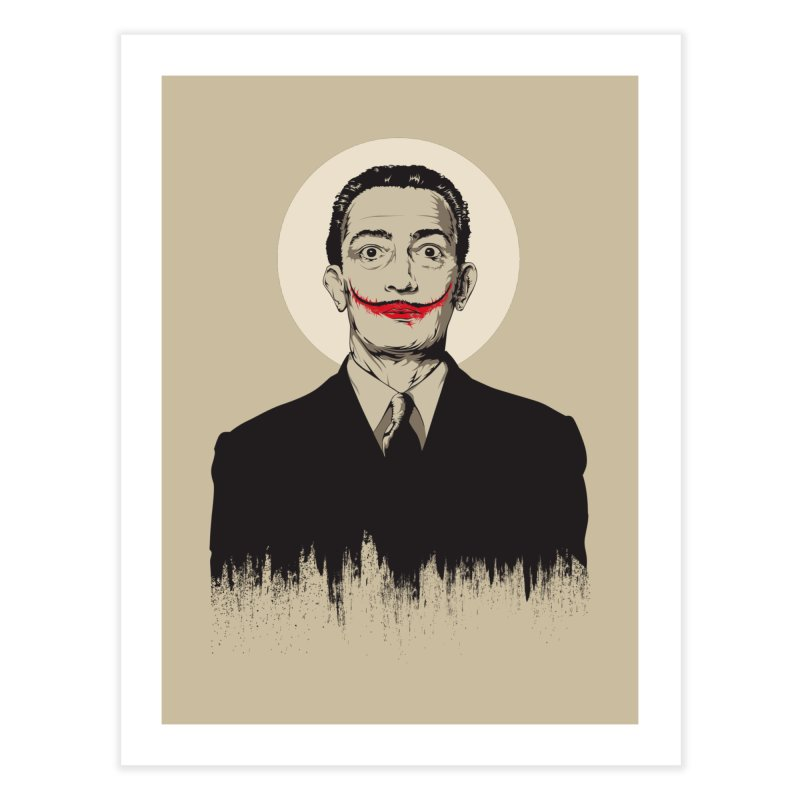 Dali   The Joker Home Fine Art Print by Gabriel Mihai Artist Shop