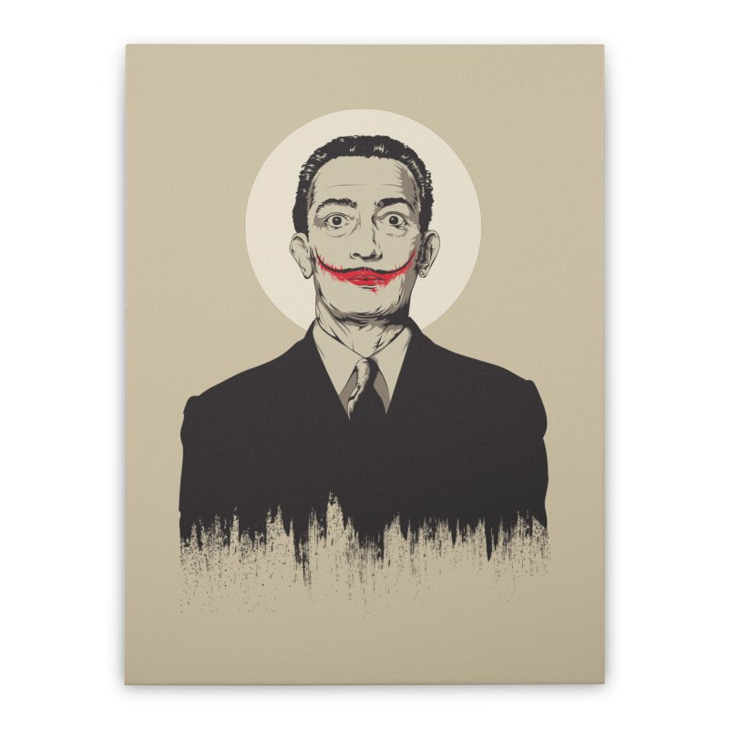 Dali | The Joker Home Stretched Canvas by Gabriel Mihai Artist Shop