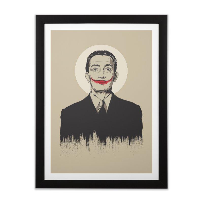 Dali   The Joker Home Framed Fine Art Print by Gabriel Mihai Artist Shop