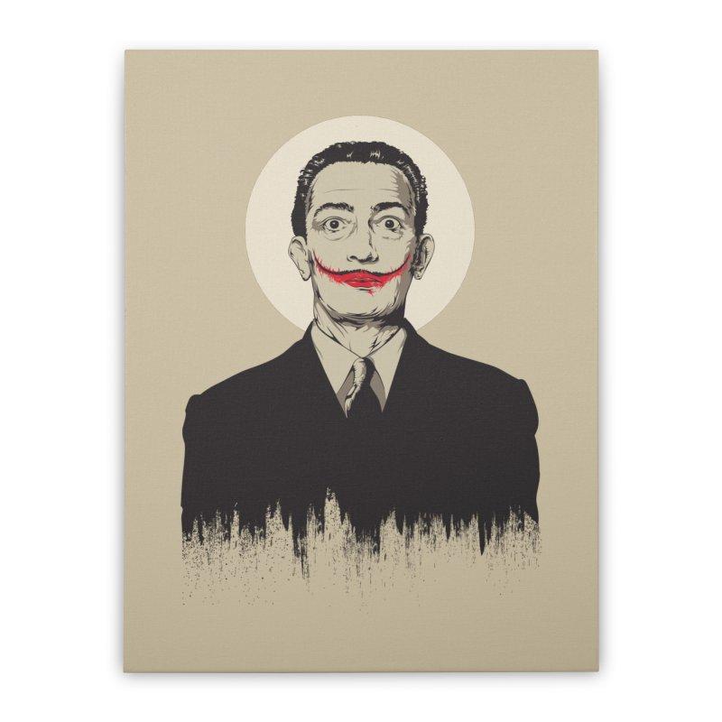 Dali | The Joker Home Stretched Canvas by Gabriel Mihai Artist Shop