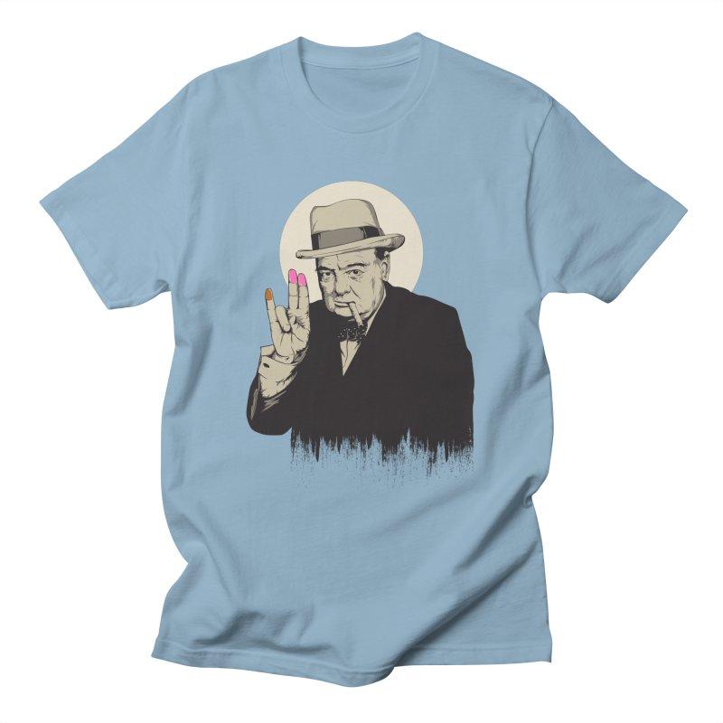 Churchill | The Shoker Men's T-Shirt by Gabriel Mihai Artist Shop