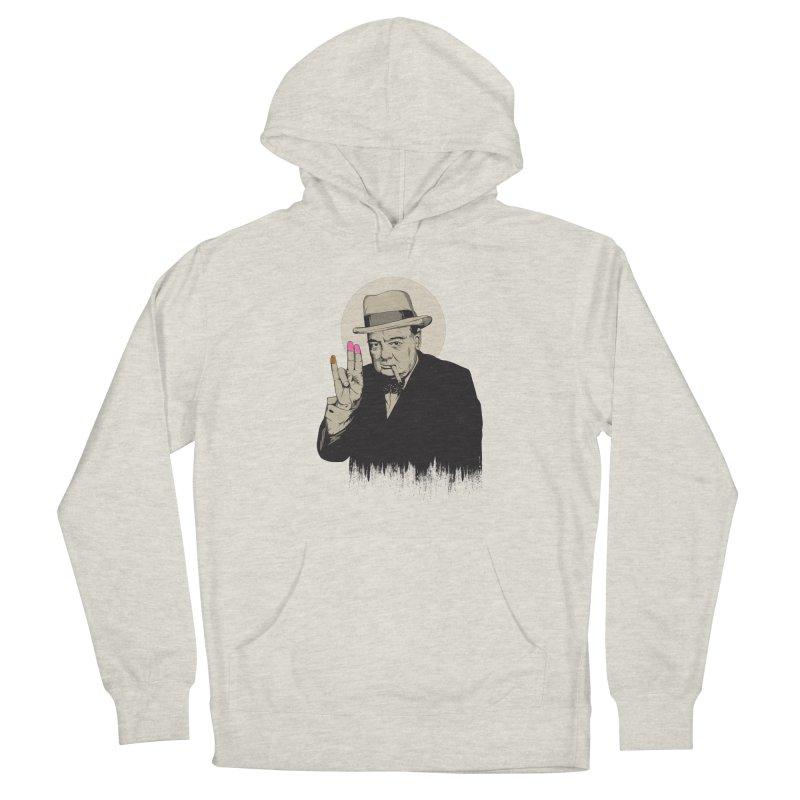 Churchill | The Shoker Women's Pullover Hoody by Gabriel Mihai Artist Shop